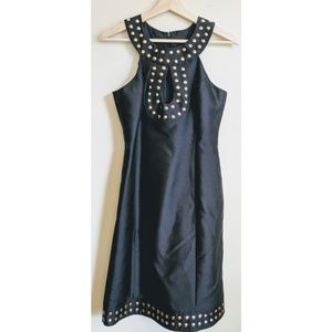 SALE Tracy Reese Black Sleeveless Sequin Dr